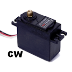 GS-5515MG - 15kg Standard Analog Servo (CW rotation)