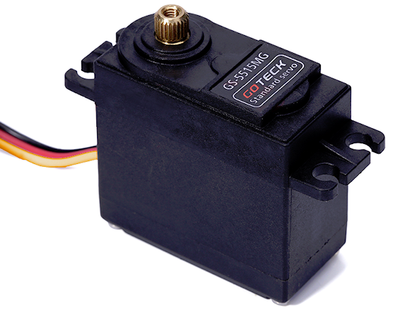 GS-5515MG - 15kg Standard Analog Servo (CCW rotation)