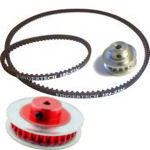 Pulleys, Belts & Bearings