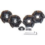 FingerTech Mecanum Wheels (Set of 4) - Competition Grade